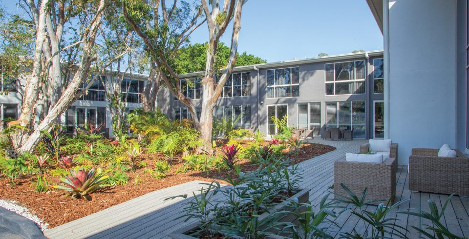 Arcare Aged Care Taigum External Courtyard 2
