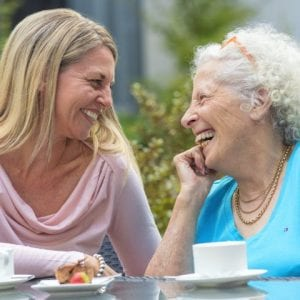 Mother Daughter Aged Care