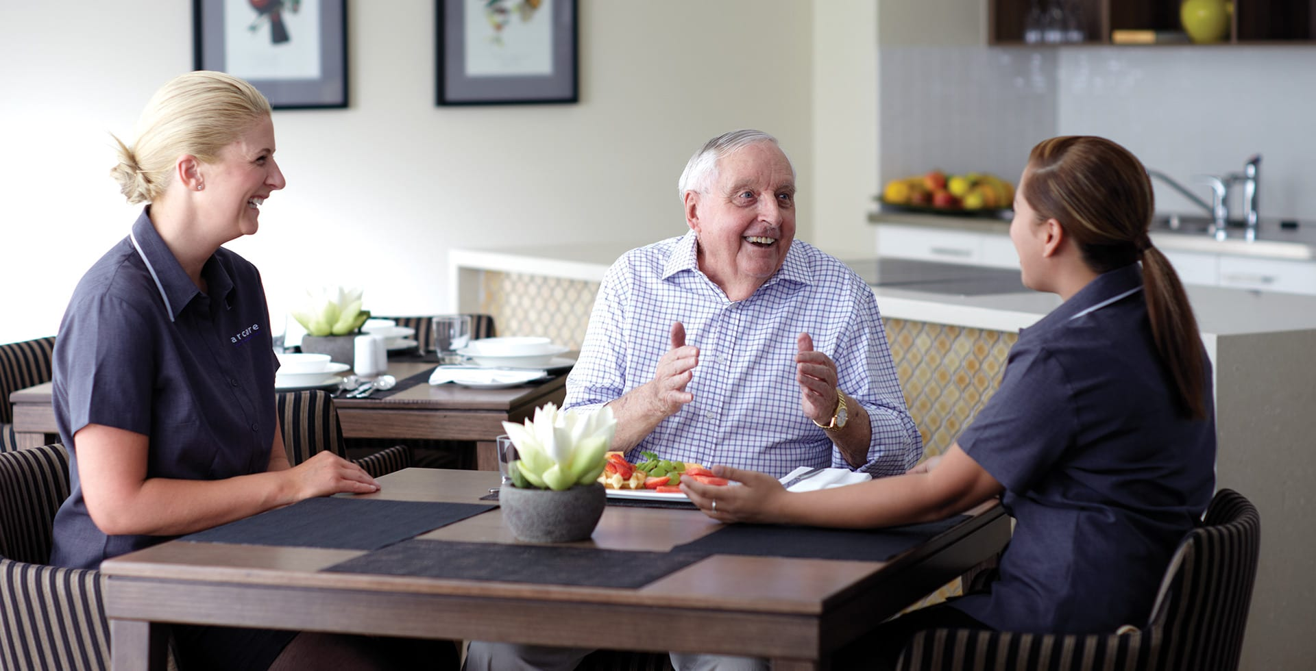 Permanent Residential Aged Care Living