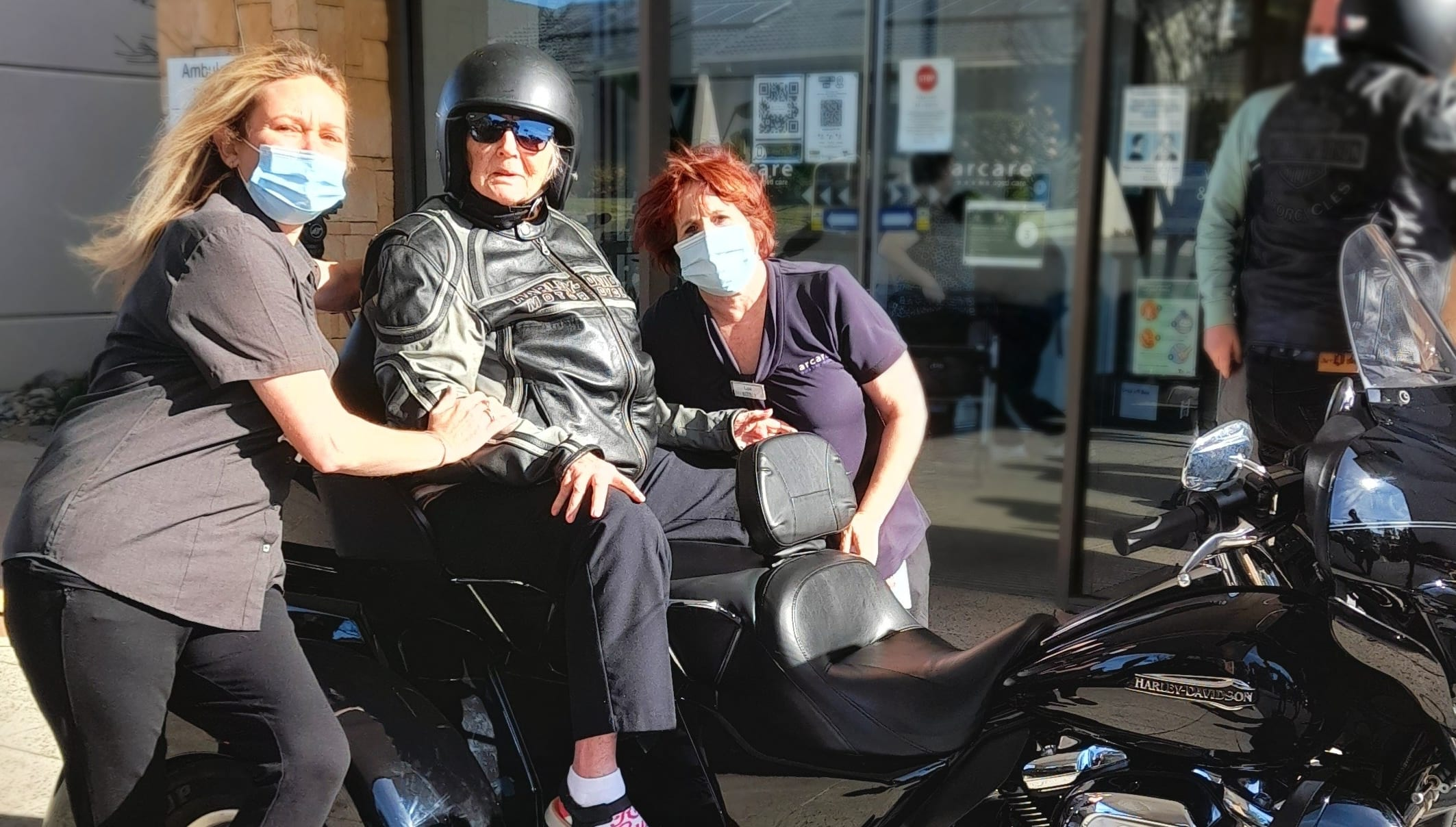 arcare_aged_care_knox_ethel_harley_ride