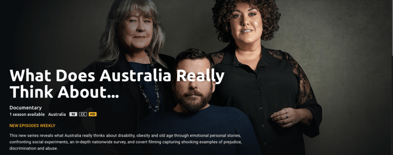 Arcare Parkwood feature on SBS 'What Does Australia Really Think About Old People?'