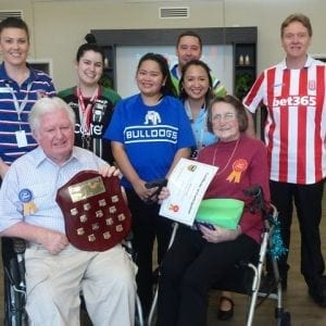 Acare Aged Care Kanwal Footy Day