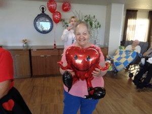 Arcare Aged Care Burnside Valentine's Day