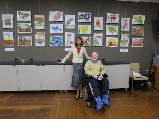 Arcare Aged Care Cheltenham Art Exhibition