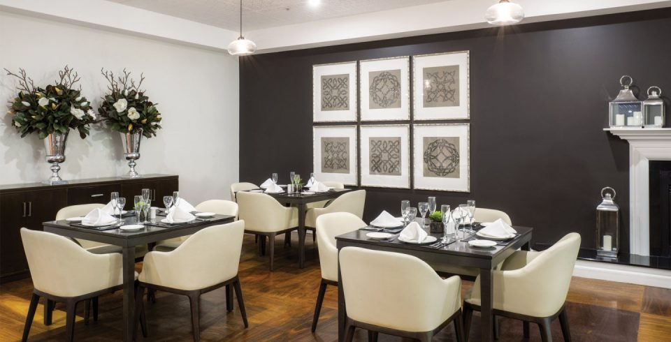 Arcare Aged Care Cheltenham Dining Room