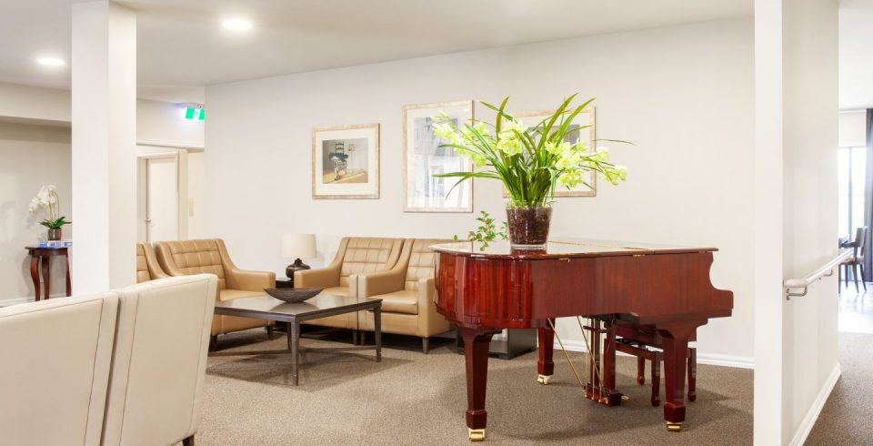 Arcare Aged Care Epping Piano Lounge