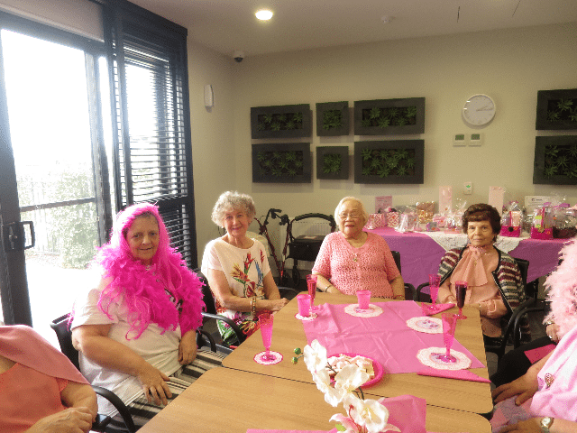 Arcare Aged Care Keysborough Pink Ribbon Day