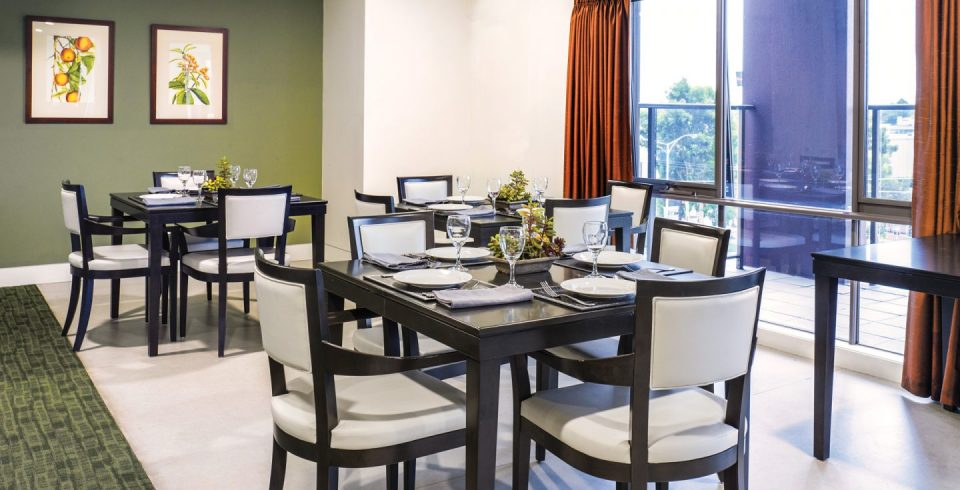 Arcare Aged Care Knox Wantirna South Dining Room