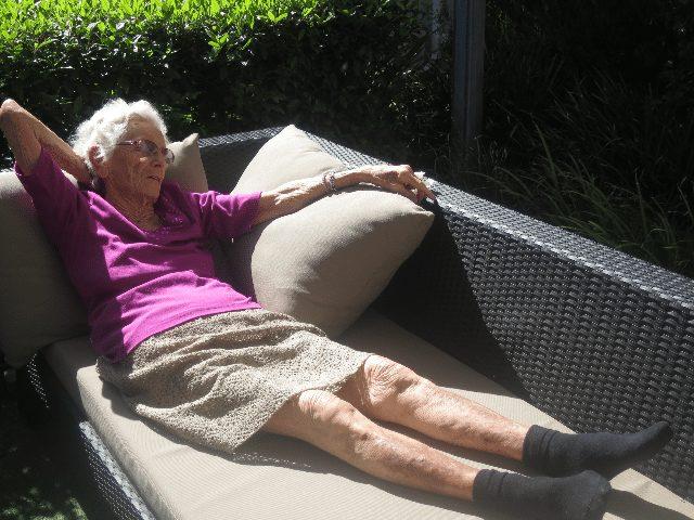 Arcare Aged Care Maidstone Sun Basking