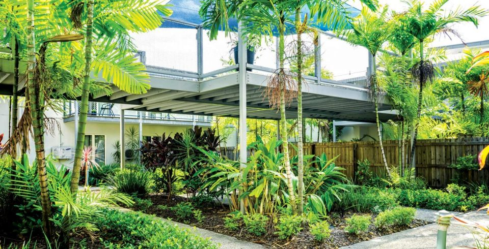 Arcare Aged Care North Lakes Courtyard