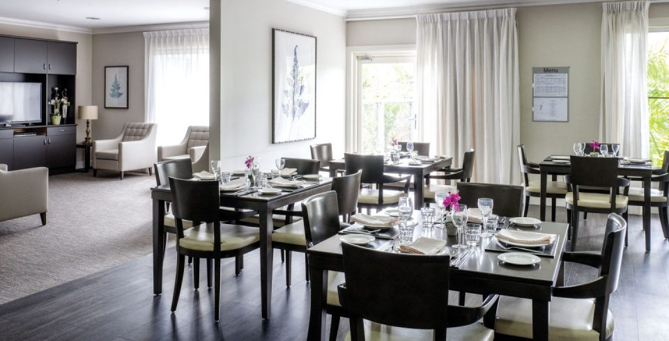 Arcare Aged Care North Lakes Dining Room