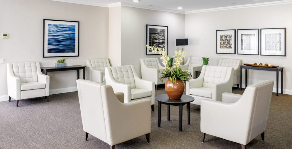 Arcare Aged Care North Lakes Lounge Room