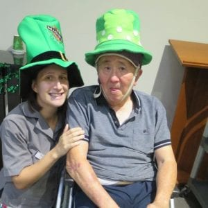 Arcare Aged Care North Lakes Amongst the Irish culture