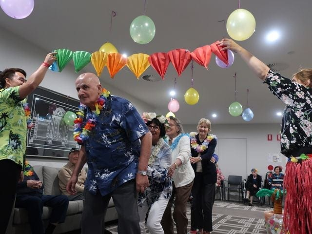 Arcare Aged Care Oatlands Hawaiian Day 11