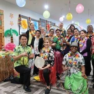 Arcare Aged Care Oatlands Hawaiian Day 6