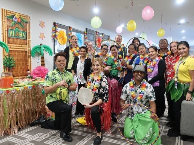 Arcare Aged Care Oatlands Hawaiian Day 6