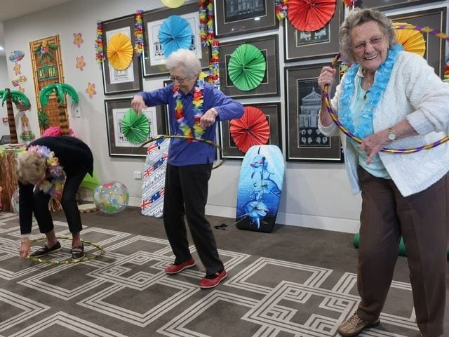 Arcare Aged Care Oatlands Hawaiian Day 8