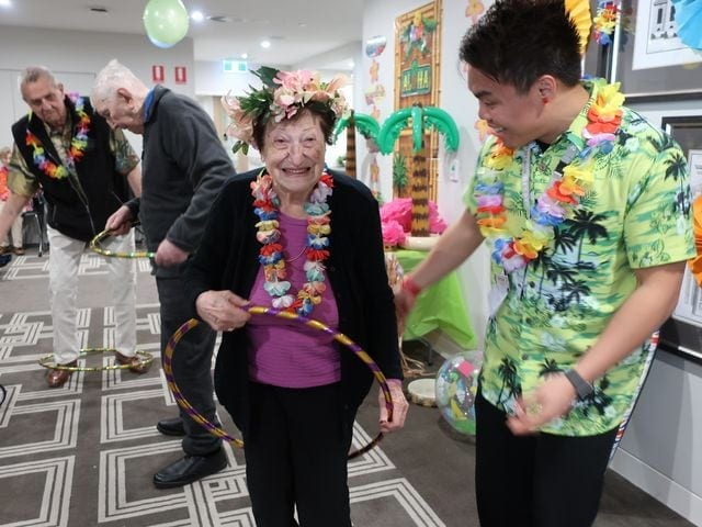Arcare Aged Care Oatlands Hawaiian Day 9