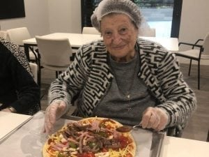 Arcare Aged Care Oatlands Pizza