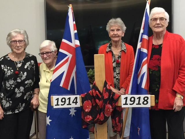 Arcare Aged Care Pimpama ANZAC Memories