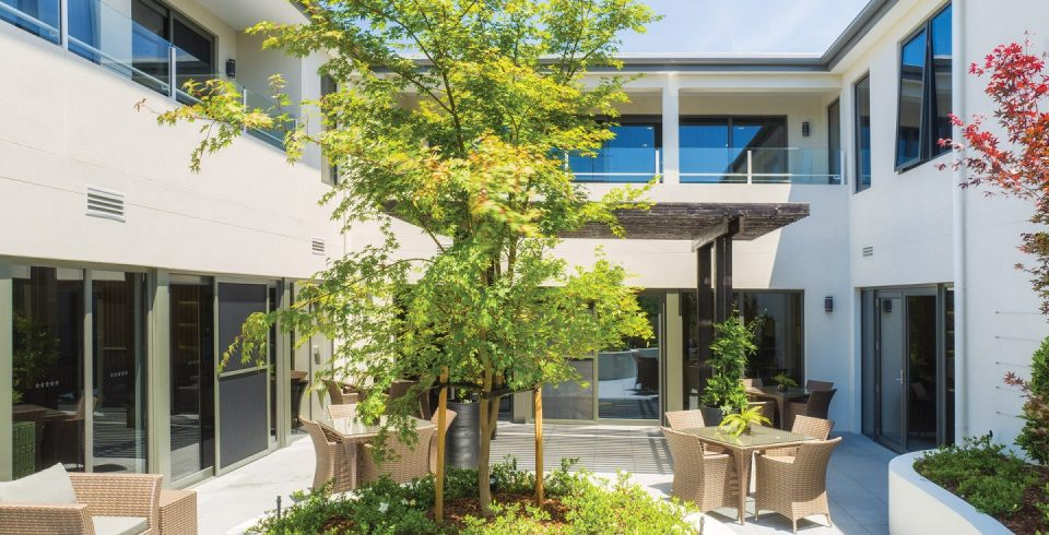 Arcare Aged Care Surrey Hills Courtyard