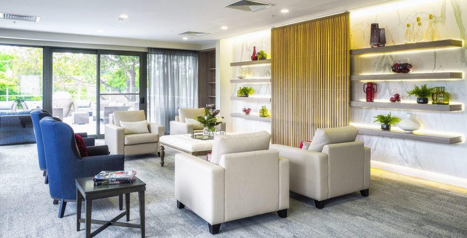 Arcare Aged Care Surrey Hills Lounge Room 1