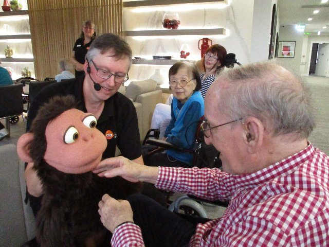 Arcare Aged Care Surrey Hills Puppets Alive 2