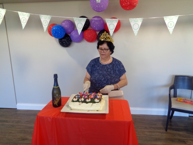 Arcare Aged Care Burnside Queensbirthdaycake