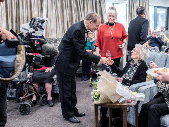 Arcare Aged Care Caulfield Marie104birthday (5)