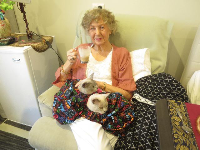 Arcare Aged Care Keysborough Cat Lady