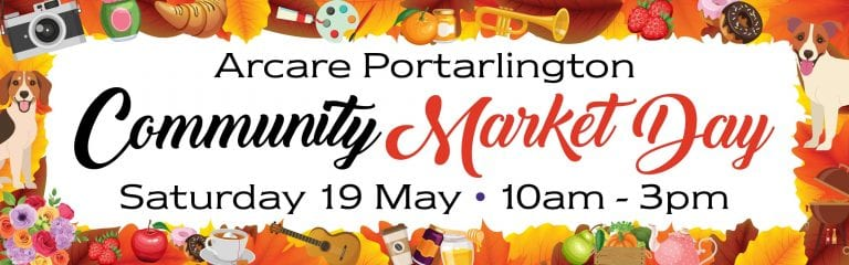 Arcare Portarlington Community Market Day