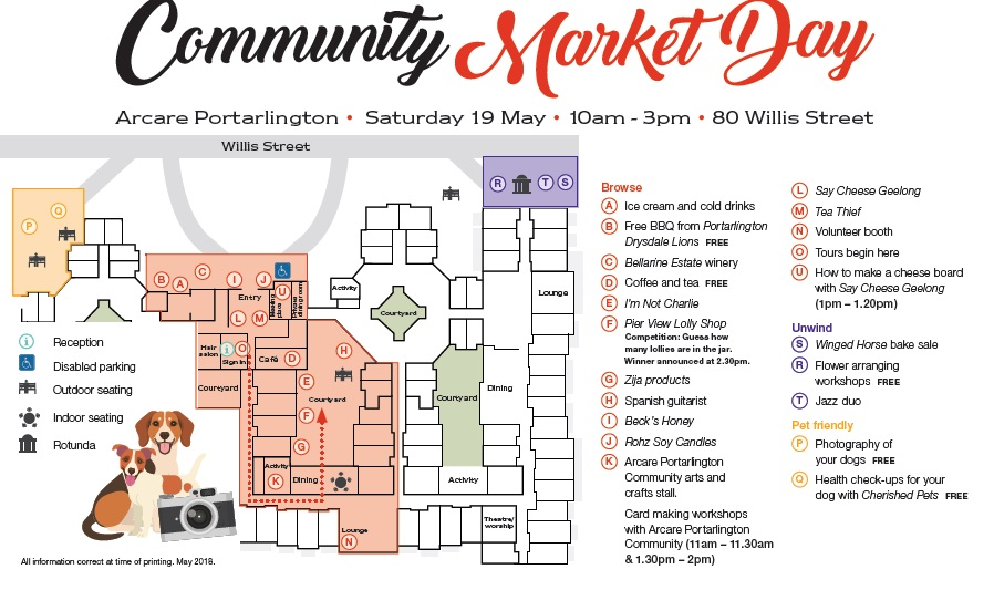 Arcare_Portarlington_Community_Market_Day_Map