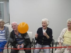 Arcare_Aged_Care_Glenhaven_Balloon_Tennis