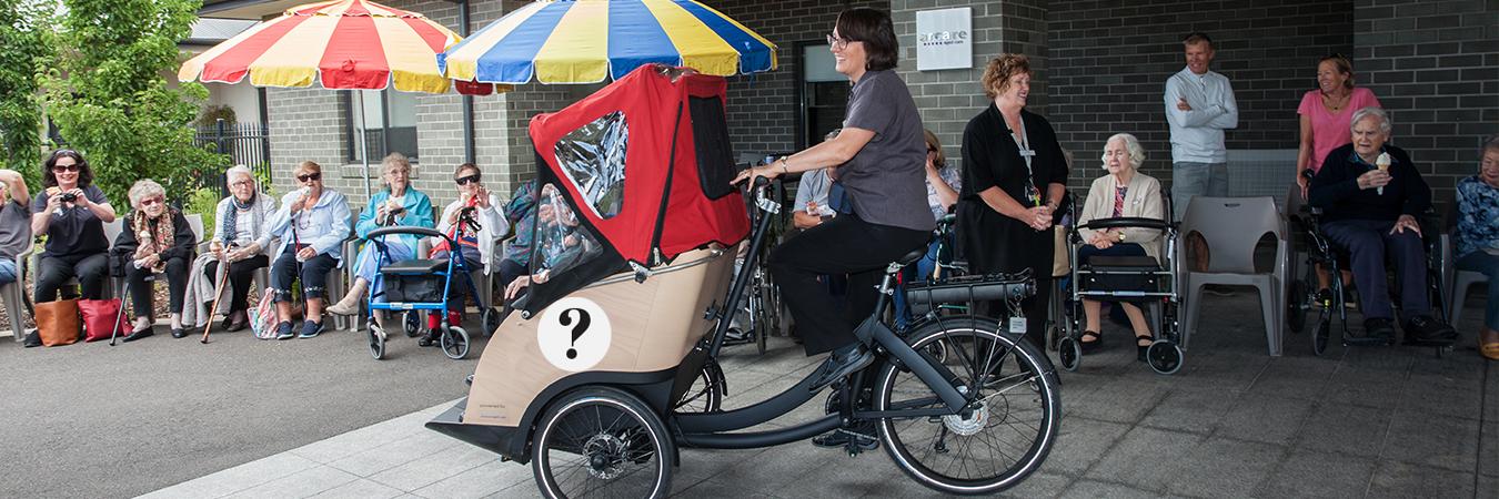 Arcare Pimpama's new bike