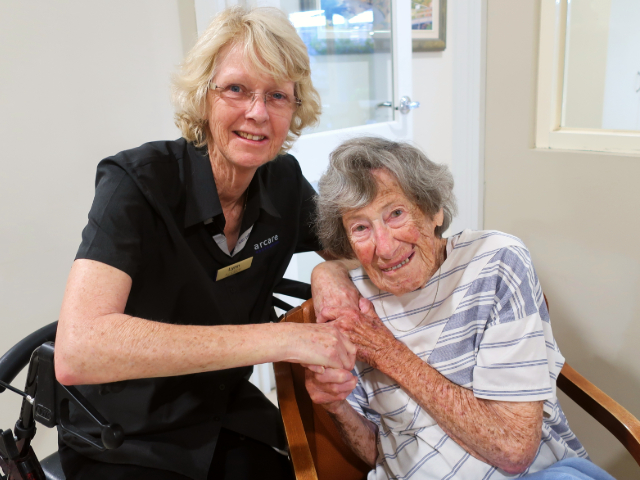 Arcare Aged Care Carnegie 291019 Gwen 102