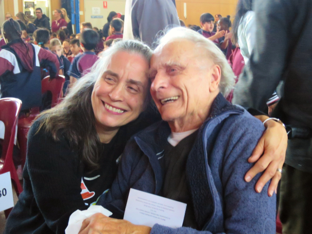Arcare Aged Care Cheltenham 11.09.19 Photo1 (Kieth And Daughter Jenny)