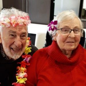 Arcare Aged Care Reservoir Cultural Day Photo 2 Couple 2 Beryl 7 Joe Perone Fiiji Day