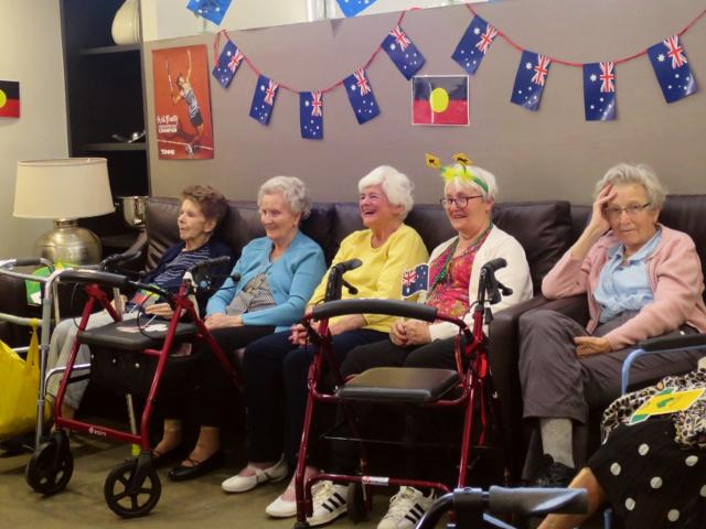 Arcare Aged Care Brighton Australia Day 2020