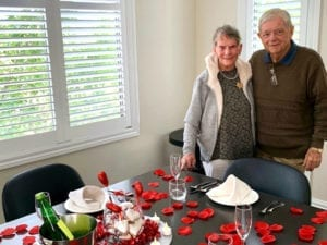 love is in the air- valentine's day- arcare