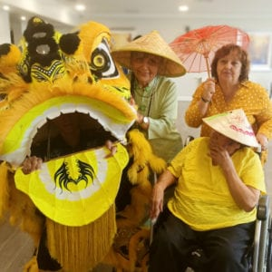 Arcare Aged Care Burnside Chinese New Year 2020
