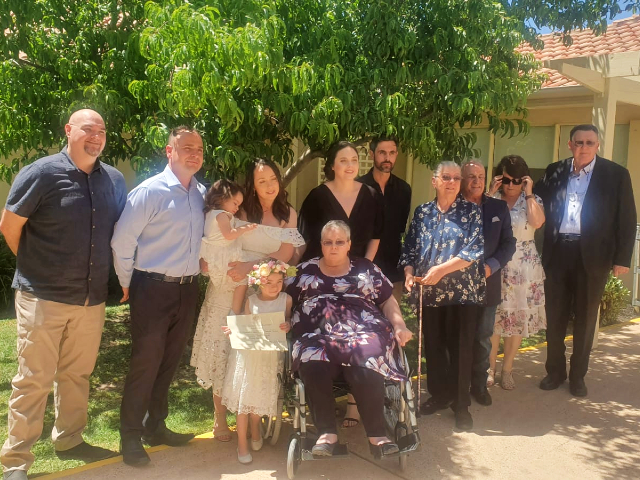 Arcare Aged Care Burnside Wedding 2019