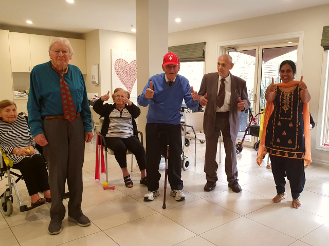 Arcare Aged Care Carnegie Dress To Impress Exercise