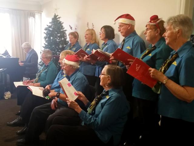 Arcare Aged Care Carnegie Holiday Season 2019 Choir