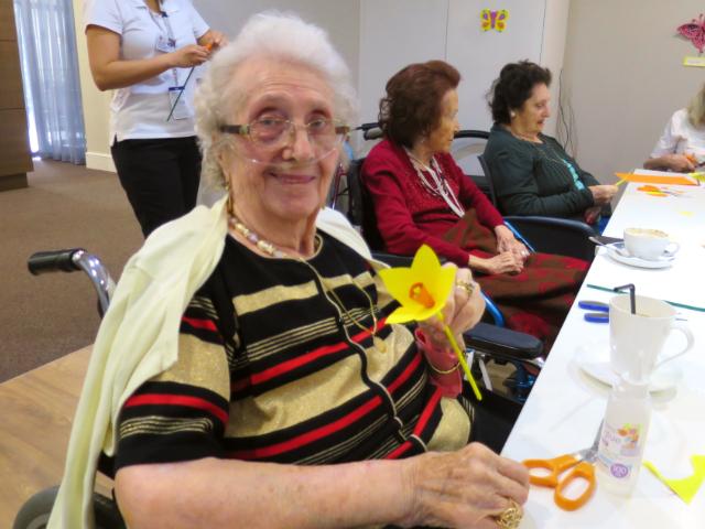 Arcare Aged Care Caulfield Daffodilcraft1