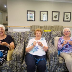 Arcare Aged Care Caulfield Knitting Bushfire 2020