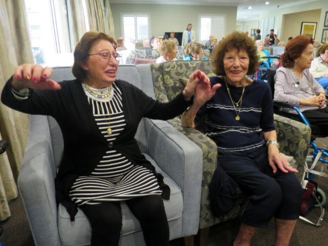 Arcare Aged Care Caulfield Lola Dancing