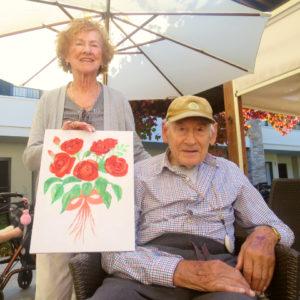 Arcare Aged Care Caulfield Rachel Painting