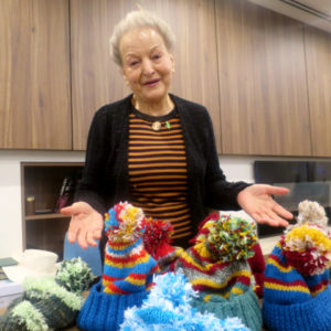 Arcare Aged Care Caulfield Rose Claire Knits Homeless