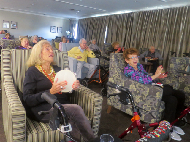 Arcare Aged Care Caulfield Virtual Concert Susie Phil