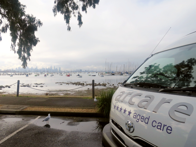 Arcare Aged Care Caulfield Williamstown Scenic Bus Drive